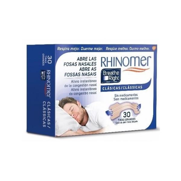 RHINOMER BREATHE RIGHT TIRA NASAL T-G 30 U