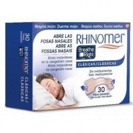 RHINOMER BREATHE RIGHT TIRA NASAL T-P/M 30 U