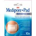3M MEDIPORE+ PAD APOSITO ESTERIL 5  X  7,2 CM 10