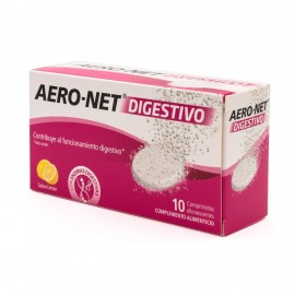 AERO NET DIGESTIVO 10 COMPRIMIDOS EFERVESCENTES