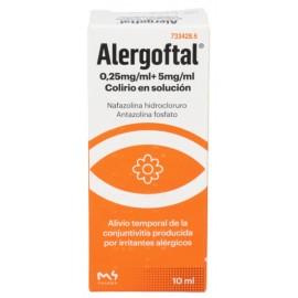 ALERGOFTAL 5/0.25 MG/ML COLIRIO 1 FRASCO SOLUCIO