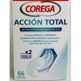 COREGA ACCION TOTAL LIMPIEZA PROTESIS - 66 TABLETAS