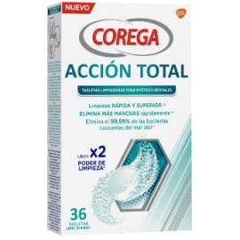 COREGA ACCION TOTAL LIMPIEZA PROTESIS - 36 TABLETAS