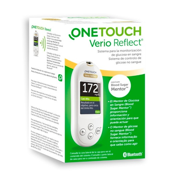GLUCOMETRO ONETOUCH VERIO REFLECT