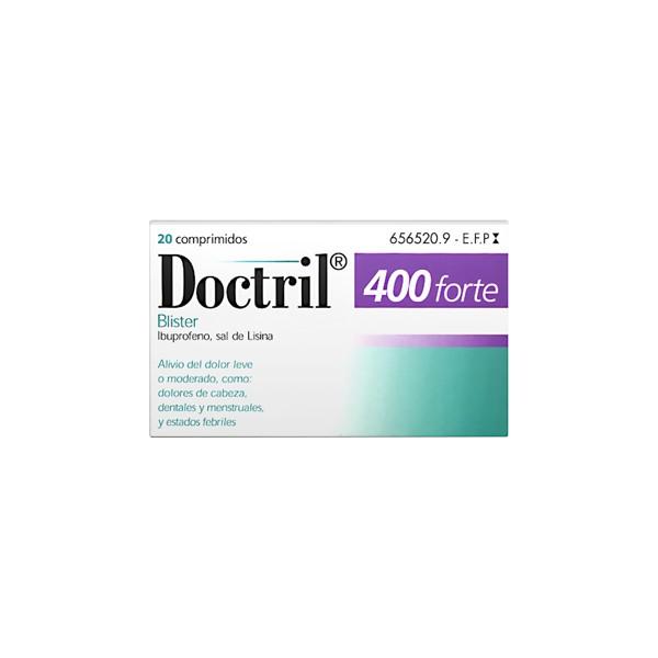 DOCTRIL FORTE 400 MG 20 COMPRIMIDOS RECUBIERTOS
