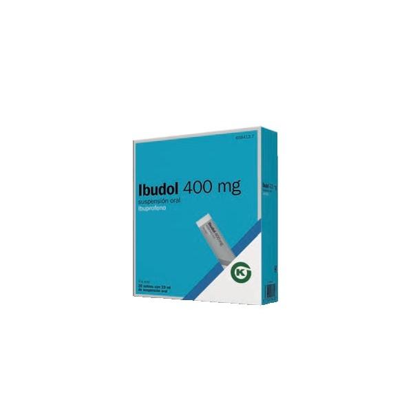 IBUDOL 400 MG 20 SOBRES SUSPENSION ORAL
