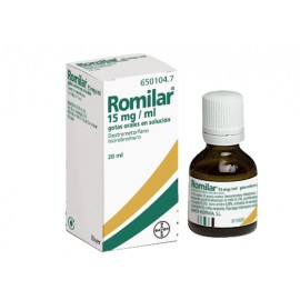 ROMILAR 15 MG/ML GOTAS ORALES SOLUCION 20 ML
