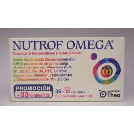 NUTROF OMEGA 36 CAPSULAS