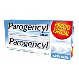 PAROGENCYL DUO CONTROL PASTA DENTAL 125 ML 2 U