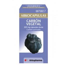 ARKOCAPSULAS CARBON VEGETAL 225 MG 50 CAPSULAS