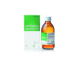 CINFATOS EXPECTORANTE 2/10 MG/ML JARABE 200 ML