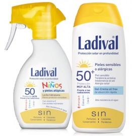 LADIVAL PACK SPRAY NIÑOS SPF50 + ADULTO SPF50