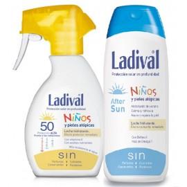 LADIVAL NIÑOS SPRAY FPS50 200 ML+ AFTERSUN