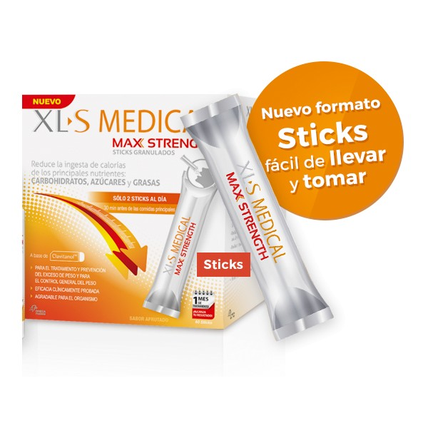 XLS MEDICAL MAX STRENGH STICKS