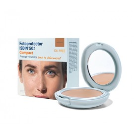 ISDIN SPF 50+ MAQUILLAJE COMPACTO BRONCE 10 G
