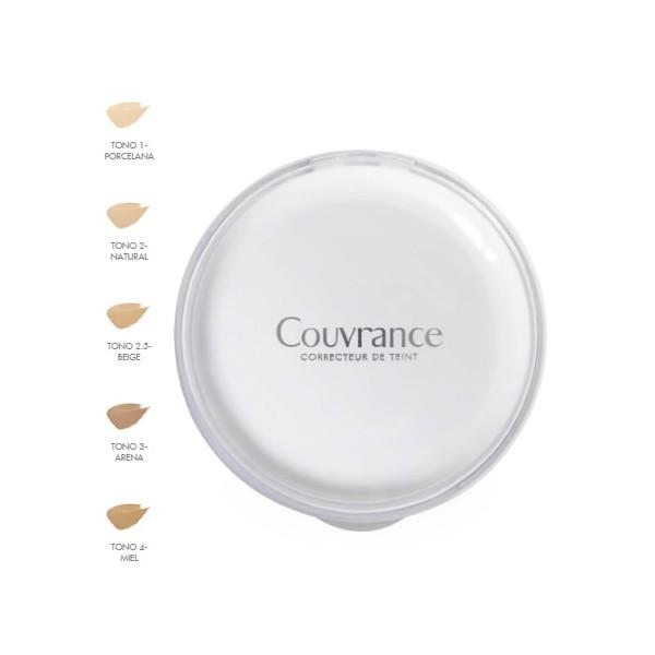 AVENE COUVRANCE CR COMPACTO BEIGE SPF 30 9.5 G