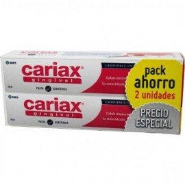 CARIAX GINGIVAL PACK PASTA 125 ML + 125 ML