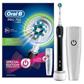ORAL B CEPILLO ELECTRICO CROSSACTION 750 BLACK