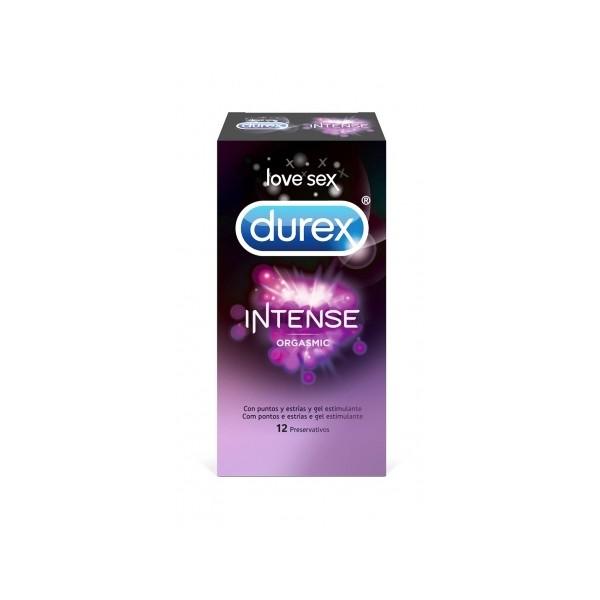 DUREX PRESERVATIVOS INTENSE ORGASMIC 12 PRESER