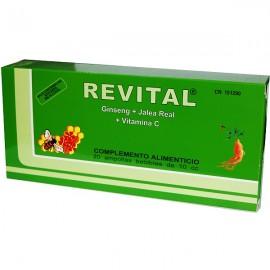REVITAL ( GINSENG+JALEA REAL+VITAM.C) AMPOLLAS BEBIBLES 20 U