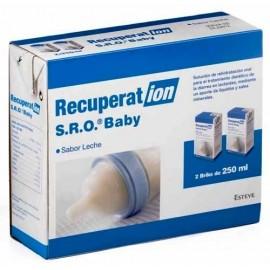 RECUPERAT-ION SUERO ORAL BABY SABOR LECHE 2X250