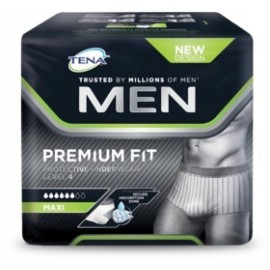 TENA FOR MEN LEVEL 4 10 UND.