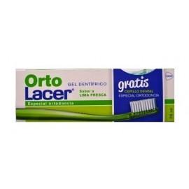 LACER ORTOLACER GEL LIMA FRESCA 75ML + CEPILLO G