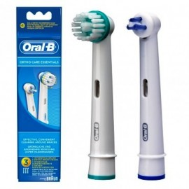 ORAL B RECAMBIO CEPILLO ELECTRICO ORTHO CARE 2 U