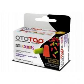 OTOTAP TAPONES OIDOS ESPUMA SOFT & COLOURS 6 U