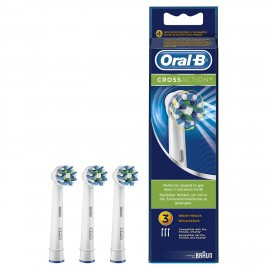 ORAL B RECAMBIO CEPILLO DENTAL ELECTRICO CROSS A 3 CABEZALES
