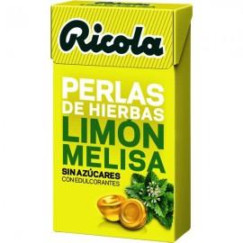 RICOLA PERLAS LIMON MELISA S-AZ 25 G