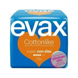 EVAX COMPRESAS SUPER CON ALAS 12 U