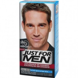 JUST FOR MEN CASTAÑO MEDIO NATURAL CHAMPU