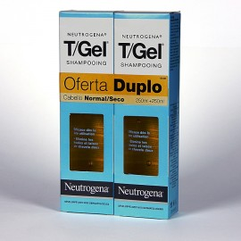 T-GEL CHAMPU ANTICASPA C NORMAL Y SECO  250 ML + 250 ML