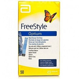 OPTIUM FREESTYLE TIRAS GLUCOSA MEDISENSE 50