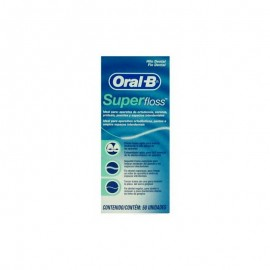 ORAL B SUPERFLOSS HILO DENTAL 50 U