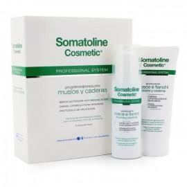 SOMATOLINE COSMETIC PROFESIONAL MUSLOS Y CADERAS 150 ML + 200 ML