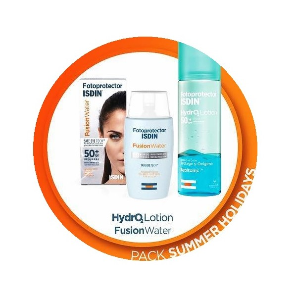 ISDIN HYDRO2 LOTION + FUSION WATER