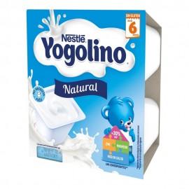 NESTLE IOGOLINO SABOR NATURAL 100 G 4 TARRINAS