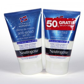 NEUTROGENA CREMA MANOS ANTIEDAD DUPLO 50 + 50 ML