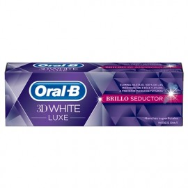 ORAL B 3D WHITE PASTA DENTAL LUXE BRILLO SEDUCTOR PACK 75 ML + 25 ML