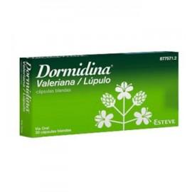 DORMIDINA VALERIANA/LUPULO 30 CAPSULAS BLANDAS