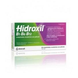HIDROXIL B1 B6 B12 30 COMPRIMIDOS RECUBIERTOS