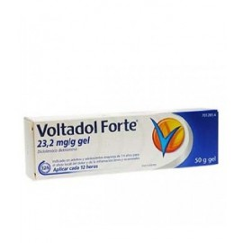 VOLTADOL FORTE 20 MG/G GEL TOPICO 50 G
