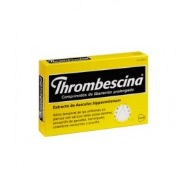 THROMBESCINA 263.2 MG 50 COMPRIMIDOS LIB PROLONGADA