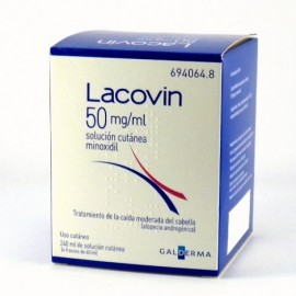 LACOVIN 50 MG/ML SOLUCION CUTANEA 4 FRASCOS 60 M
