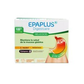EPAPLUS HELICOACID 40 COMPRIMIDOS