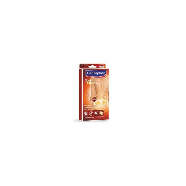 HANSAPLAST SPIRAL HEAT 1 PARCHE LUMBAR/CUELLO